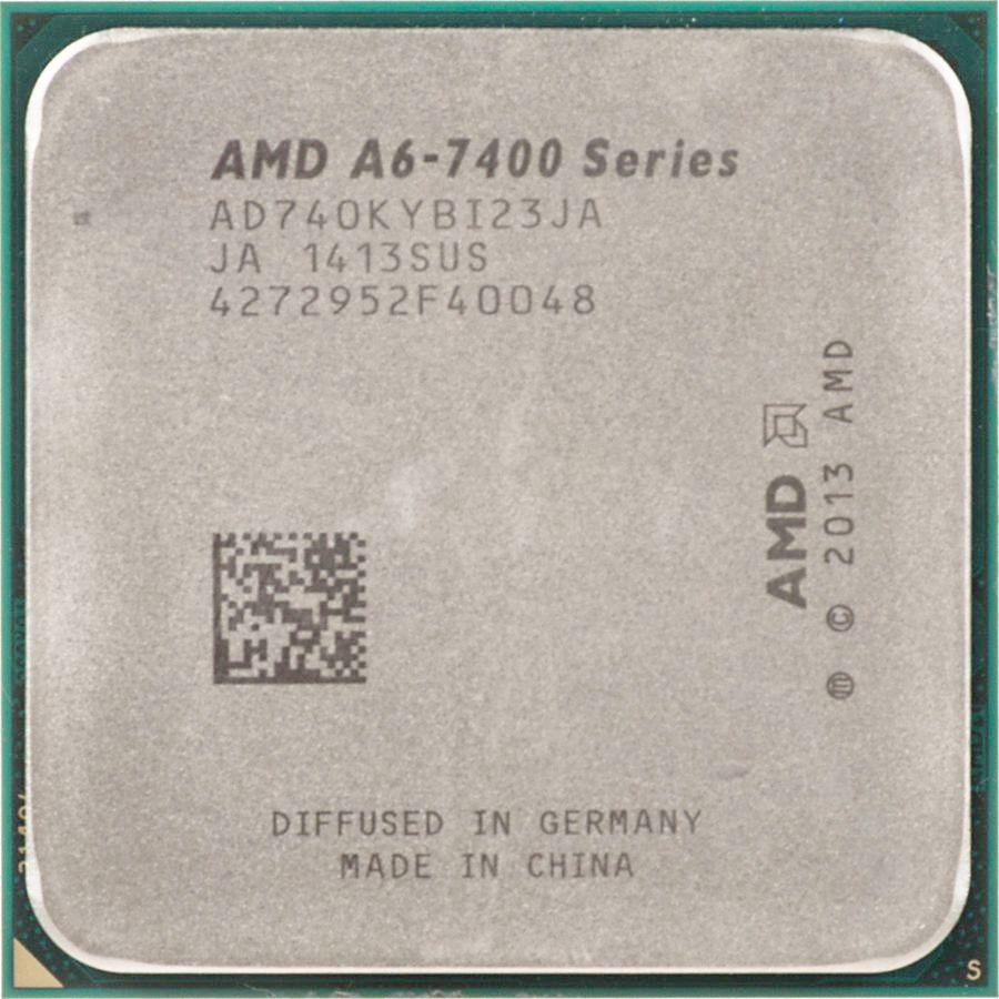 Processador AMD A6 7400K 3.5 Ghz 2 MB FM2+ AD740KYBI23JA OEM S/ Cooler
