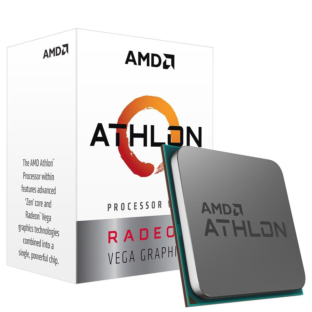 Processador AMD Athlon 3000G Two Core, Cache 5MB, 3500MHz, AM4