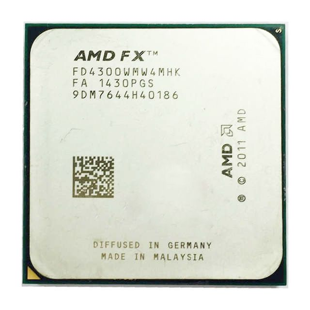 Processador Amd FX 4300 3.8ghz Quad-Core 8mb Cache Lga Am3+  OEM s/ cooler