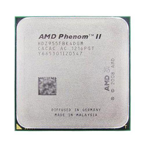 Processador AMD Phenom II X4 965 Quad-Core 3.4GHz Black Edition