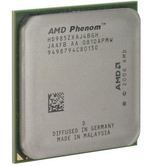 Processador AMD Phenom X4 9850 2.5GHZ AM2+ HD98ZXAJ4BGH (Semi Novo)