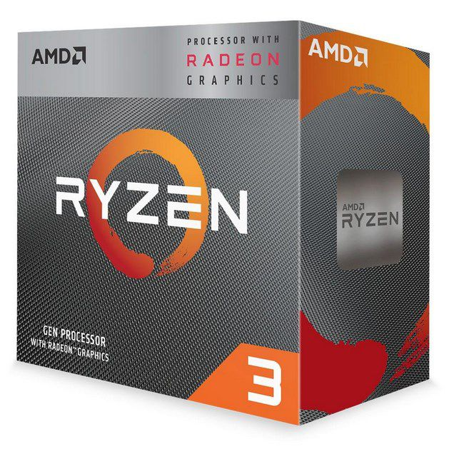 Processador AMD Ryzen 3 3200G Cache 4MB 3.6GHz 4GHz Max Turbo AM4 YD3200C5FHBOX