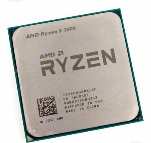Processador AMD Ryzen 5 2600 Cache 19MB 3.4GHz AM4 Oem C/ Cooler Compatível