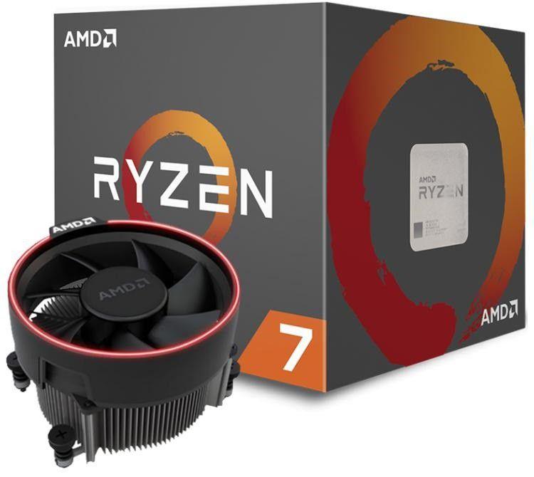 Processador AMD Ryzen 7 2700 Octa-Core 3.2GHz (4.1GHz Turbo) 20MB Cache AM4, YD2700BBAFBOX