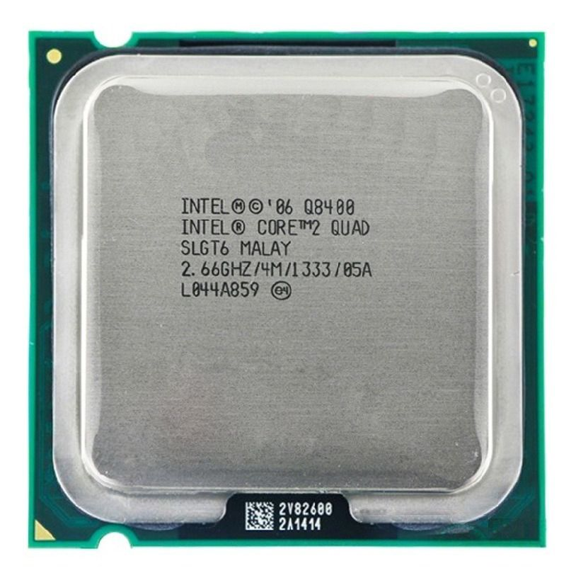 Processador Core 2 Quad Q8400 Cpu 2.66 Ghz 4M 1333Ghz OEM S/ Cooler