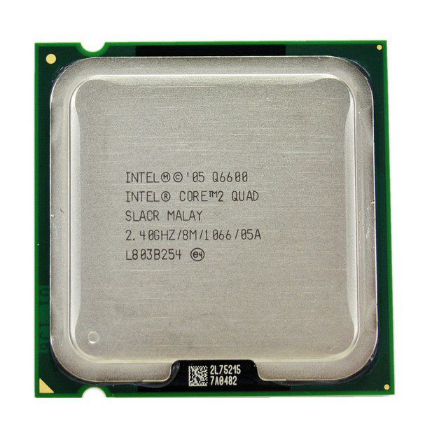 Processador CPU Intel Core 2 Quad Q6600 SLACR 2.4 GHz 8 MB Socket 775 OEM S/ Cooler