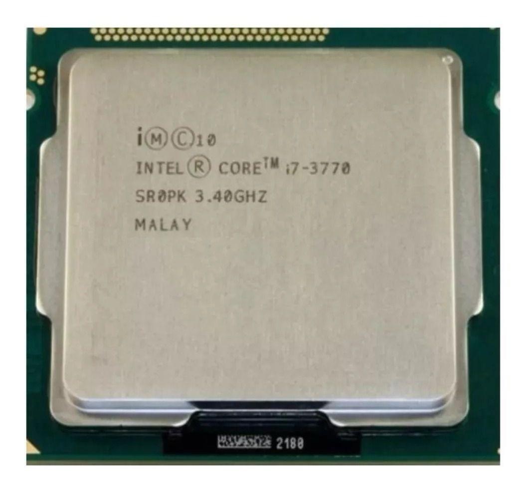 Processador intel Core  I7 3770 3.4ghz 1155 OEM 100%