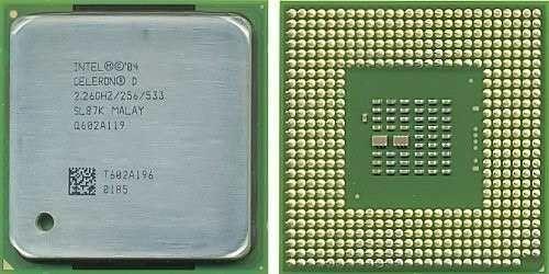 Processador Intel Celeron D 2.26Ghz SL87K 478 (Semi Novo)