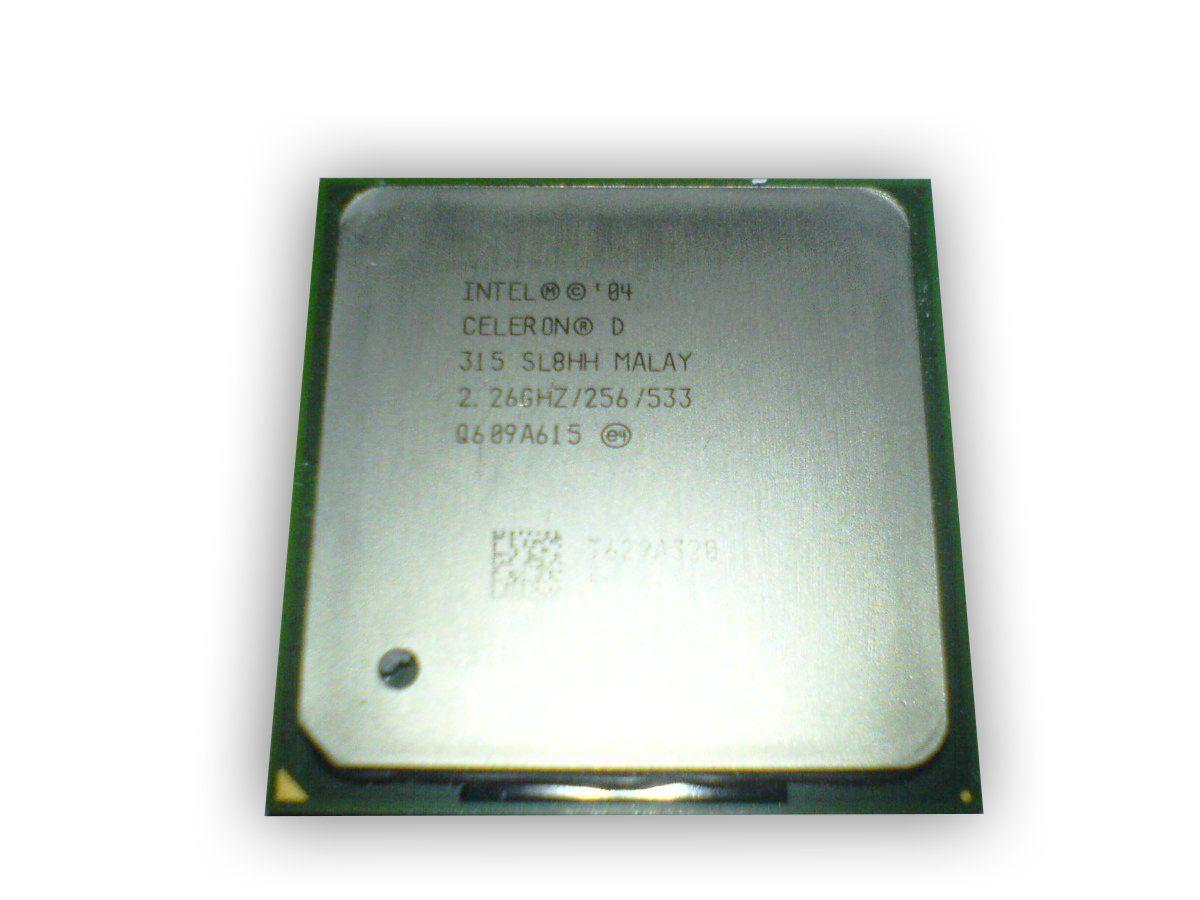 Processador Intel Celeron D 315 Sl8hh 2.26ghz 478