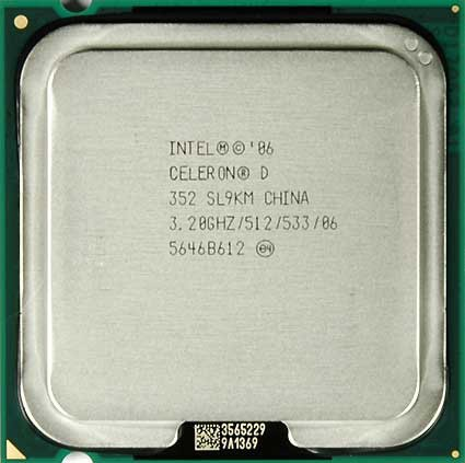 Processador Intel Celeron D 352 - 3.20ghz 775