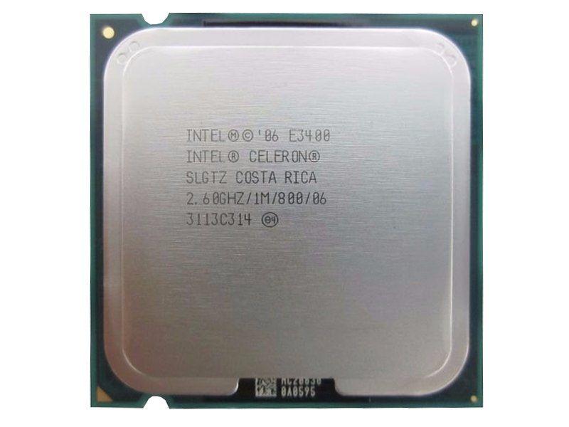 Processador Intel Celeron E3400 2.6ghz 1m 800 Slgtz (Semi Novo)