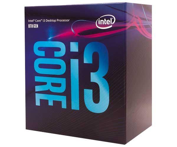 Processador Intel Core i3 8100 Coffee Lake 8a Geração, Cache 6MB, 3.6GHz, LGA 1151