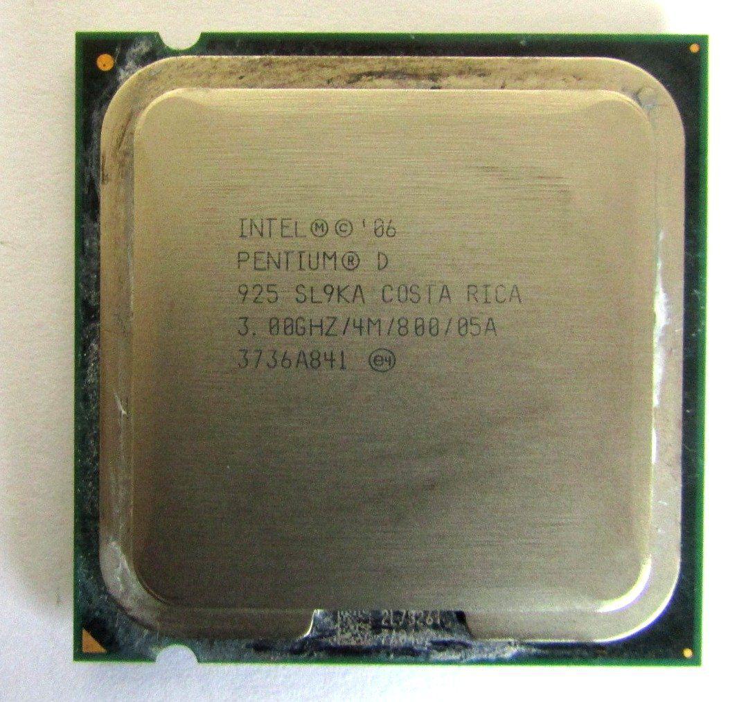 Processador Intel Pentium D925 4m 3,00ghz 800mhz Pn: Sl9ka (semi novo)