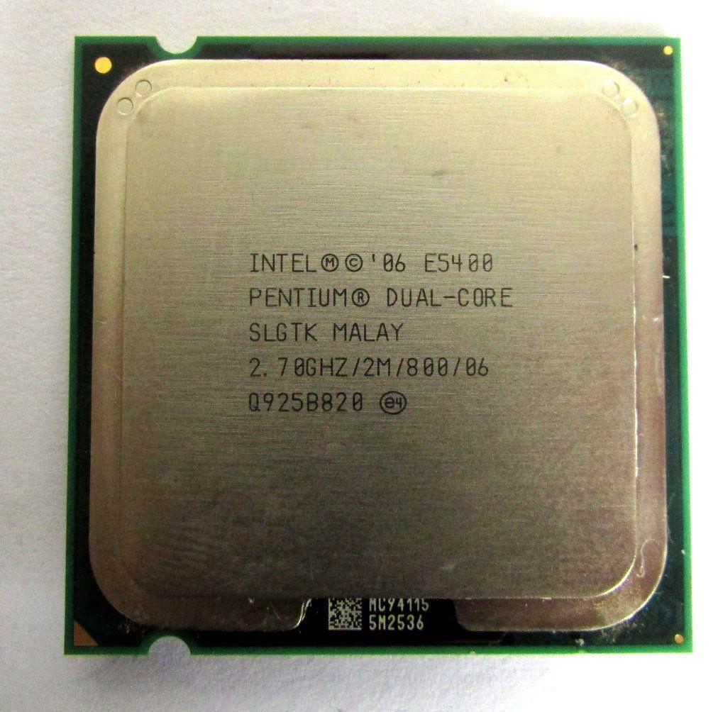 Processador Intel Pentium Dual Core E5400 2.70ghz/2m Slgtk 775
