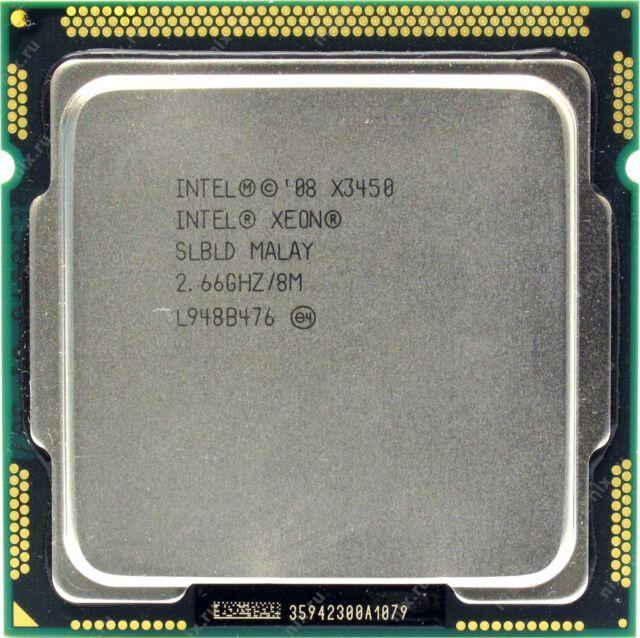Processador Intel Xeon X3450 2.667 ghz Quad-Core Oito-Thread 95w 8mb 1156 Oem