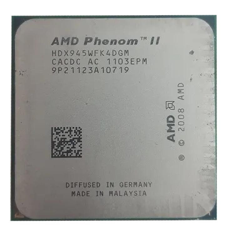 Processador P/ Desktop Amd Am3 Phenom Ii X4 945 - Retirado