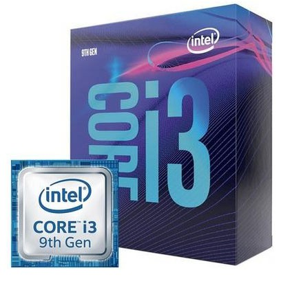Processador Intel Core i3-9100 Box LGA 1151 4.2Ghz 6MB Cache - BX80684I39100
