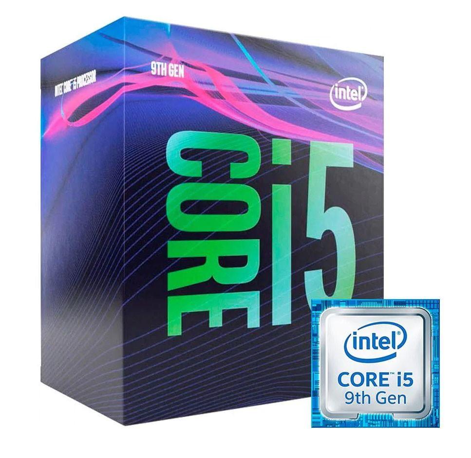 Processador P/ Desktop Intel Core i5 9400 LGA 1151, 2.90GHz (4.10GHz Turbo) 9MB, 9ª Geração  Vídeo Integrado - BX80684i59400
