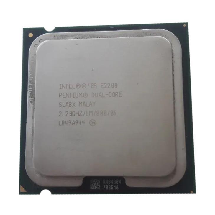 Processador P/ Desktop Intel Dual Core E2200 1m 2.20ghz 800 Sla8x 775 - Retirado