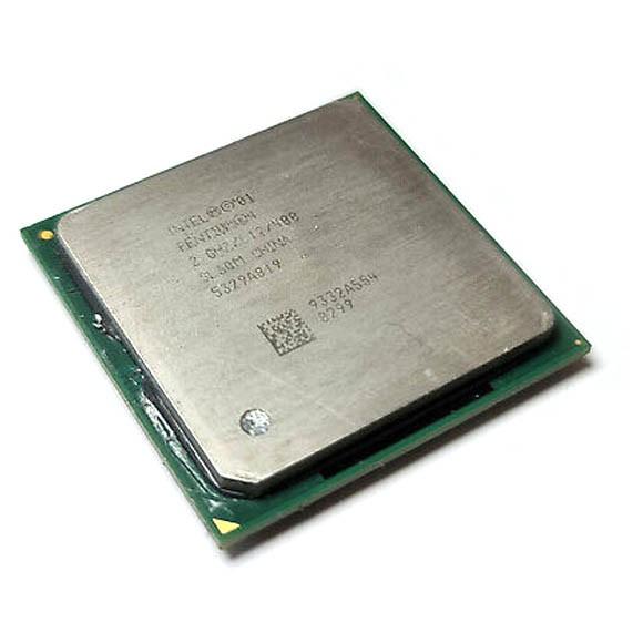 Processador P/ Desktop Intel Pentium 4 20ghz 478 sl6qm malay - Retirado
