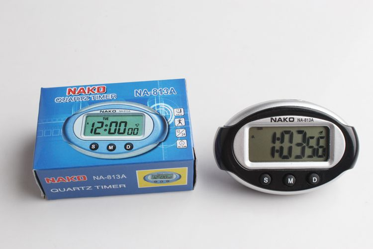 Relógio Digital Carro Clock Painel Nako Veiculo Interno