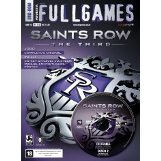 Revista Fullgames Nº 113 - Saints Row The Third Midia Fisica Jogo Completo