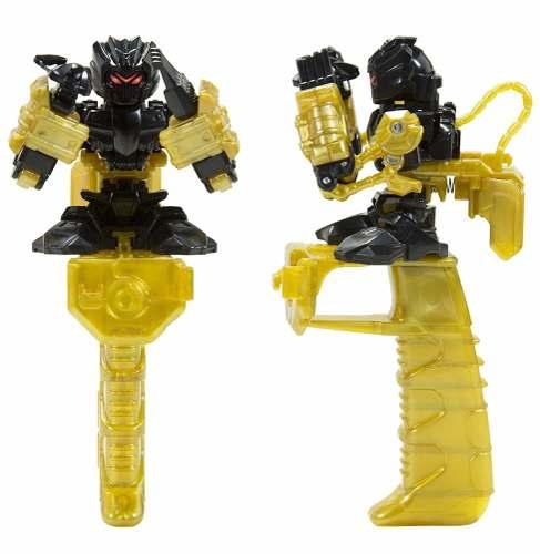 Robô brinquedo de dedo Battle Nox Max Black Multikids BR522