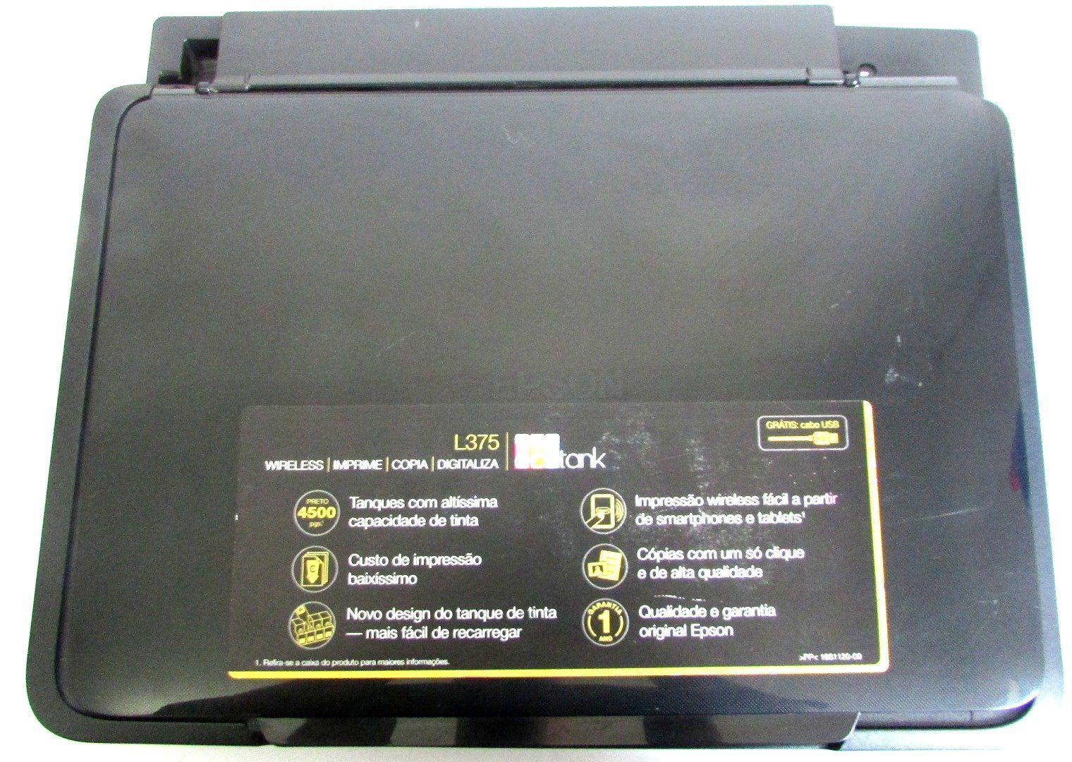 Scanner Completo s/ Painel Impressora EPSON L375 (semi novo)