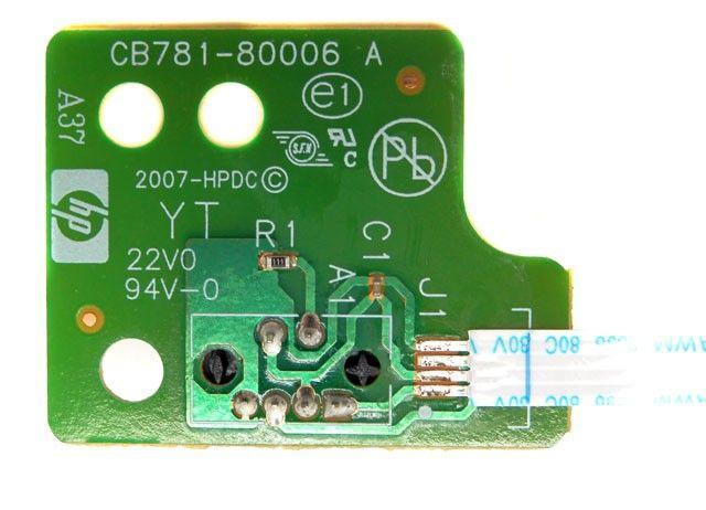 Sensor do mecanismo HP OfficeJet C4280 CB781-80006