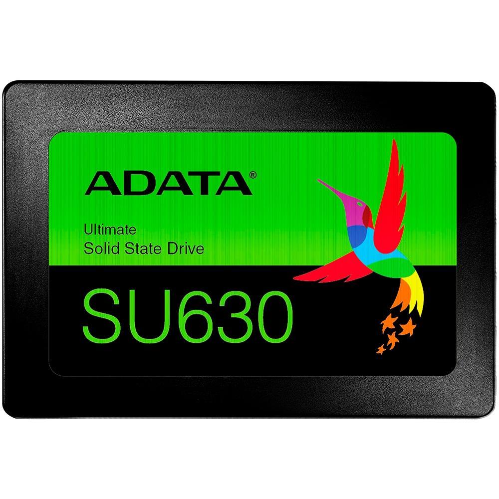 SSD Adata SU630 240GB SATA Leitura 520MB/s Gravação 450MB/s ASU630SS-240GQ-R