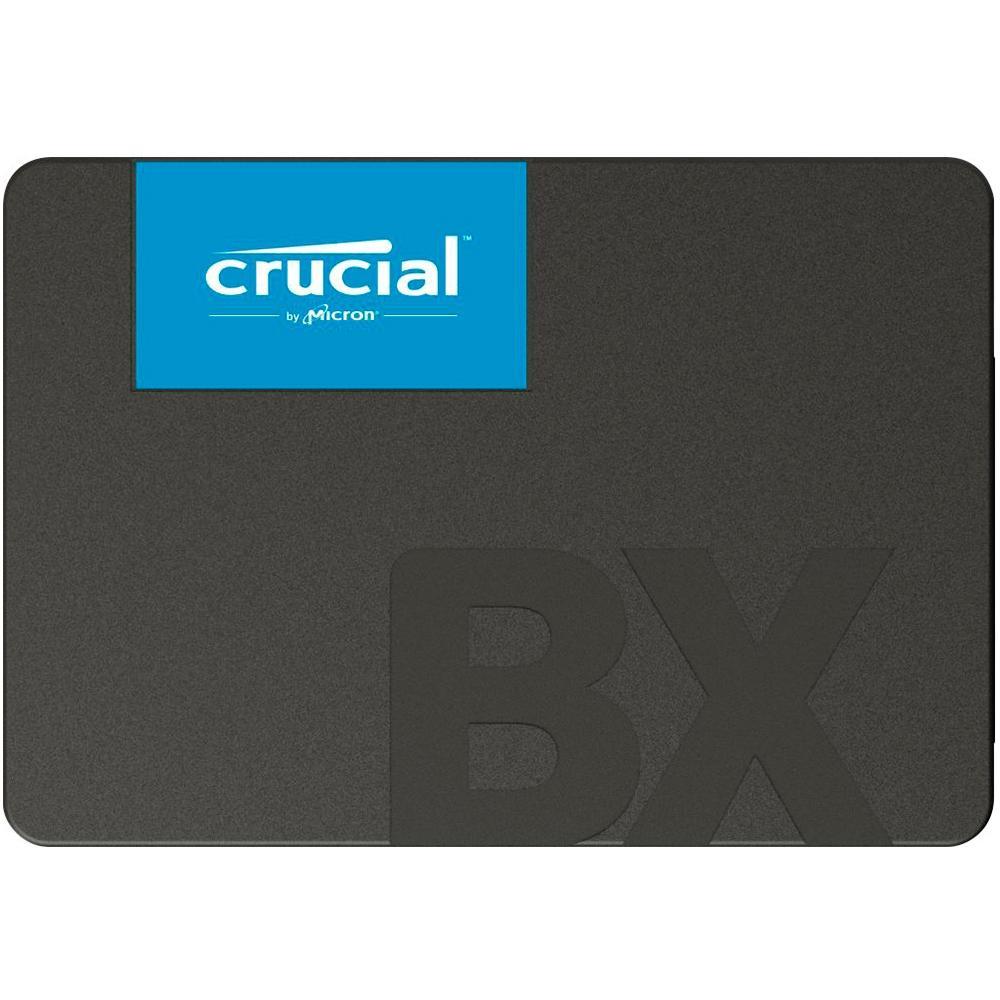 SSD Crucial BX500 480GB SATA Leitura 540MB/s Gravação 500MB/s CT480BX500SSD1