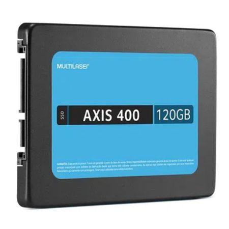 SSD Multilaser Axis 400 120GB SATA III 2.5