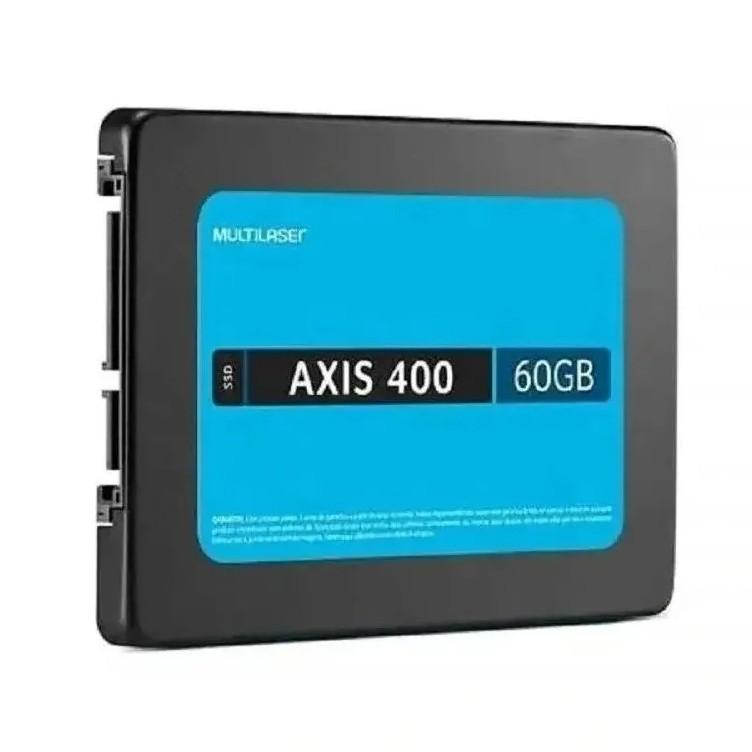 SSD Sata 2.5'' TLC SATA 60gb Axis 400 Mb/s - SS060BU