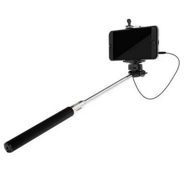 Stick Bastão de Selfie Retrátil C/ Controle Remoto Embutido no Bastão - COMTAC 9313