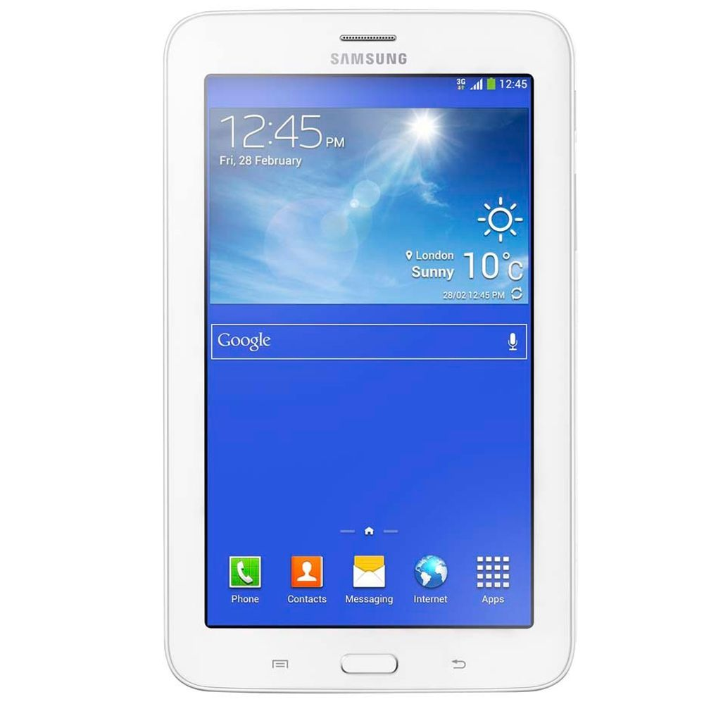 Tablet Samsung Galaxy Tab 3 Lite SM-T110 8GB Wi-fi Branco Semi Novo