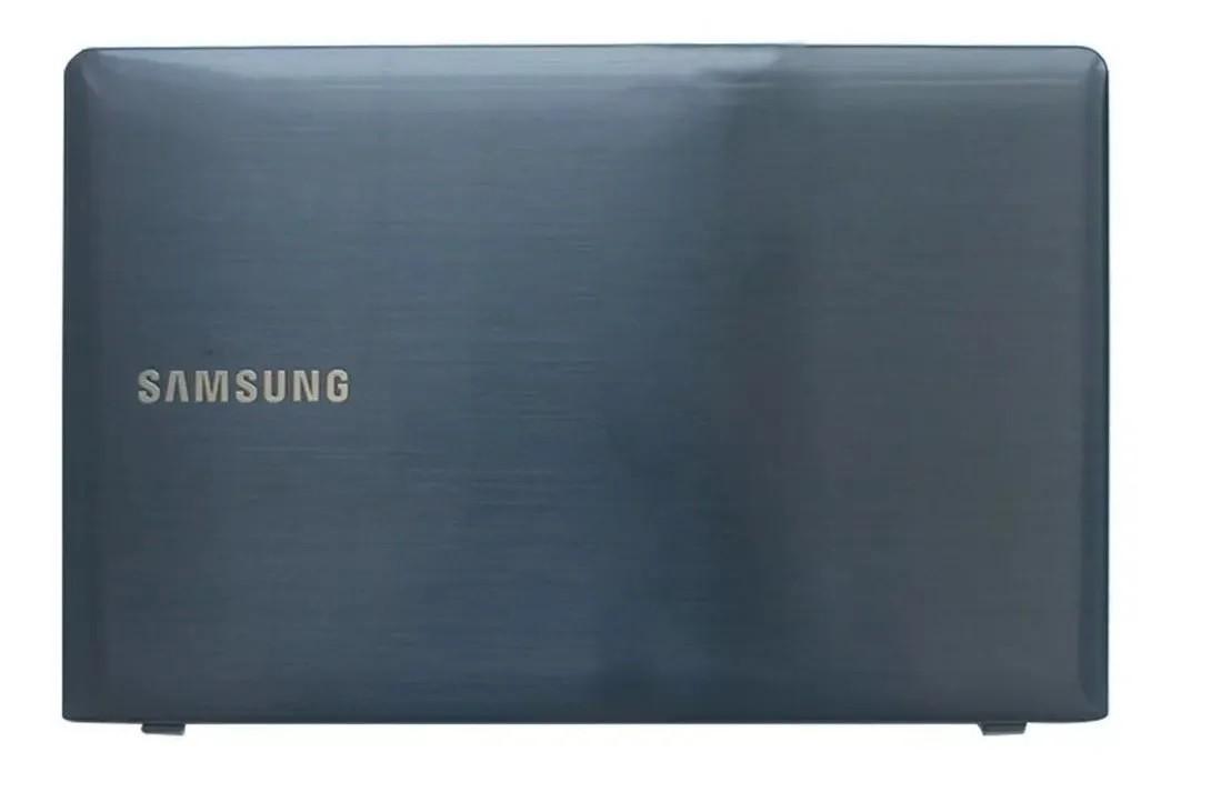 Tampa traseira Notebook Samsung Np270e4e Np275e4e Azul - NOVO