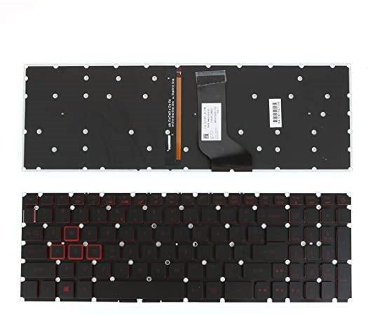 Teclado Notebook Acer Iluminado p/ VX5-591G VX15 VX5-793 VN7-593 VX5-591 VN7-793 VN7-593G VN7-793G N16W3 N16W4 Inglês - NOVO