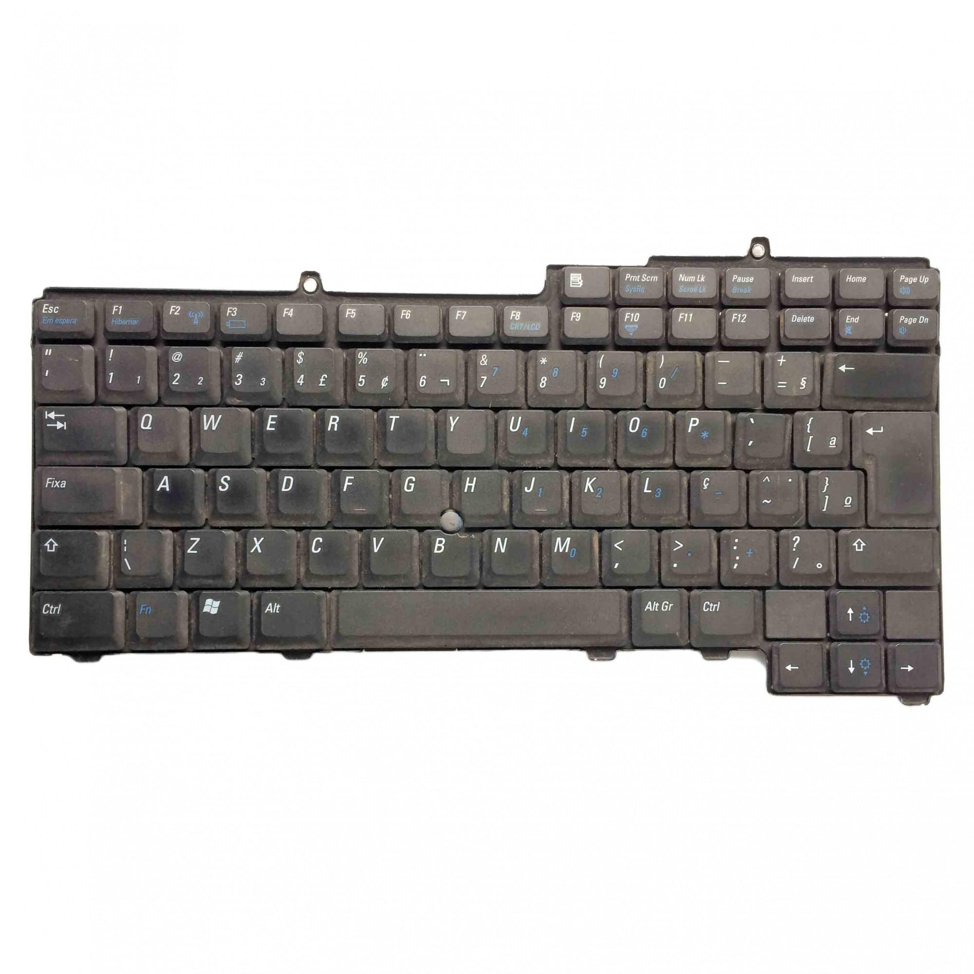 Teclado + Flat Notebook Dell Inspiron 1501 A245 Series 12v PN:kfrmb2 - Retirado