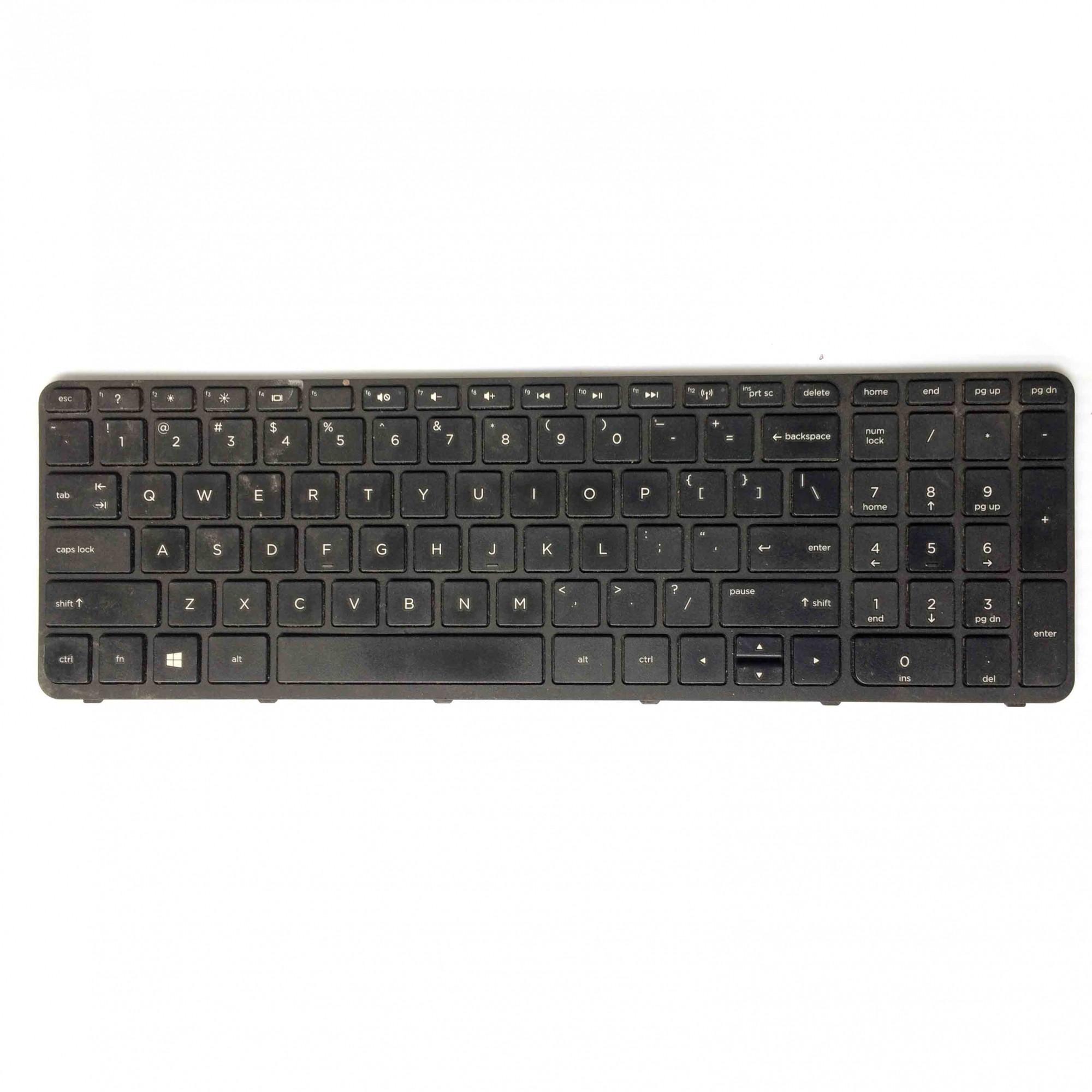 Teclado + Flat Notebook HP Pavilion 15-E020TX PN:pk1314d4a00 - Retirado