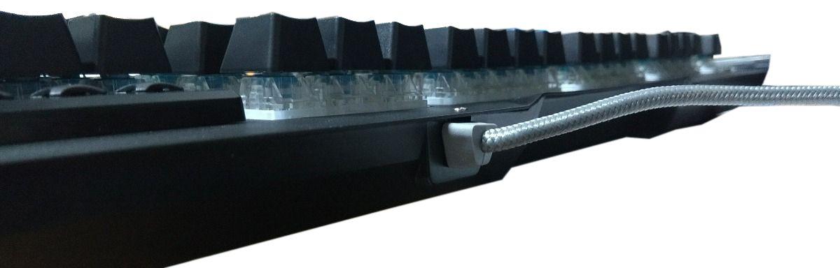 Teclado Iluminado Semi Mecânico Gamer Led LTK-027 DEX