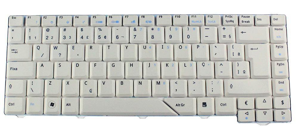 Teclado Notebook Acer 5920 AC4710AE140168 NSK-361D Novo