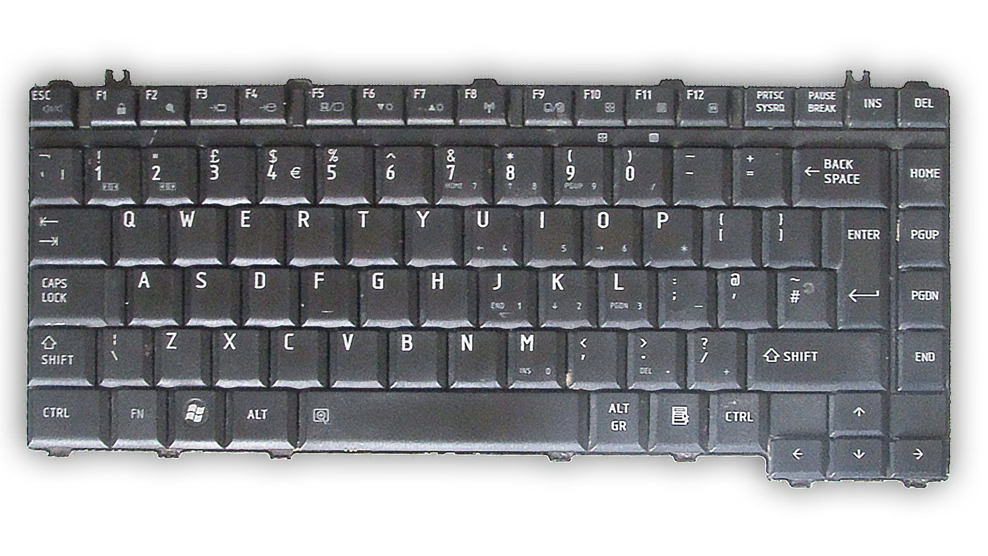 Teclado P/ Notebook Toshiba MP-06866GB-9304 (Semi Novo)