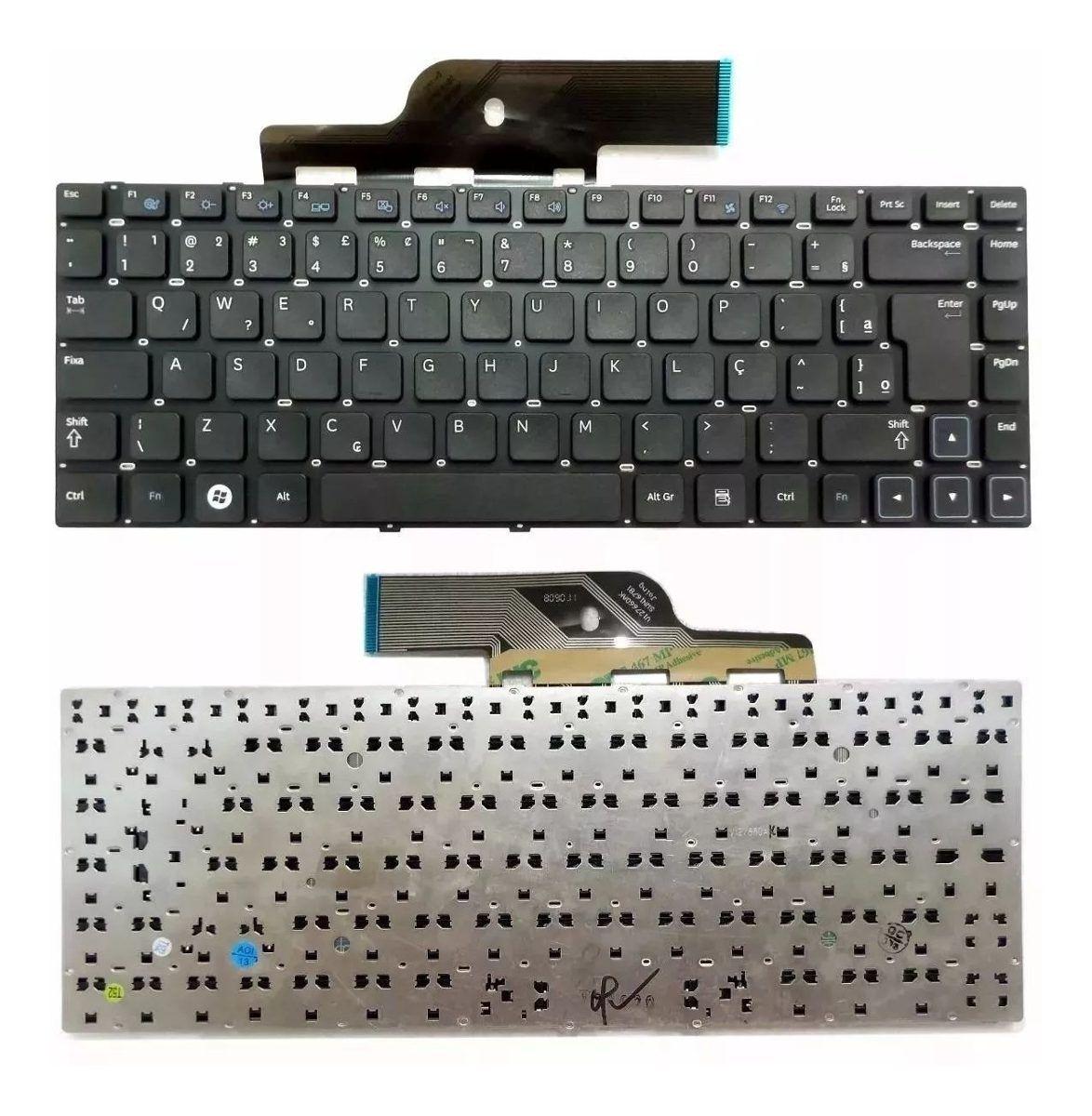 Teclado Para Notebook Samsung Np300 Np300e4c Novo
