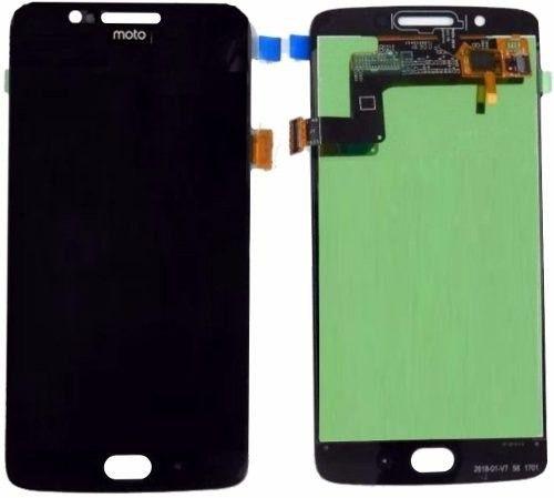 Tela Display Frontal Tela Touch Lcd Moto G5 XT1672 XT1675 Preto