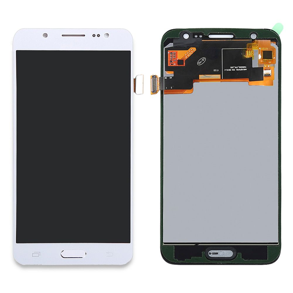Tela touch Display Samsung J5  j500 1ª Linha Branco C/ Brilho e Botão