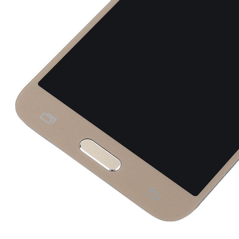 Tela touch Display Samsung J5  j500 1ª Linha Dourado C/ Brilho e Botão Home