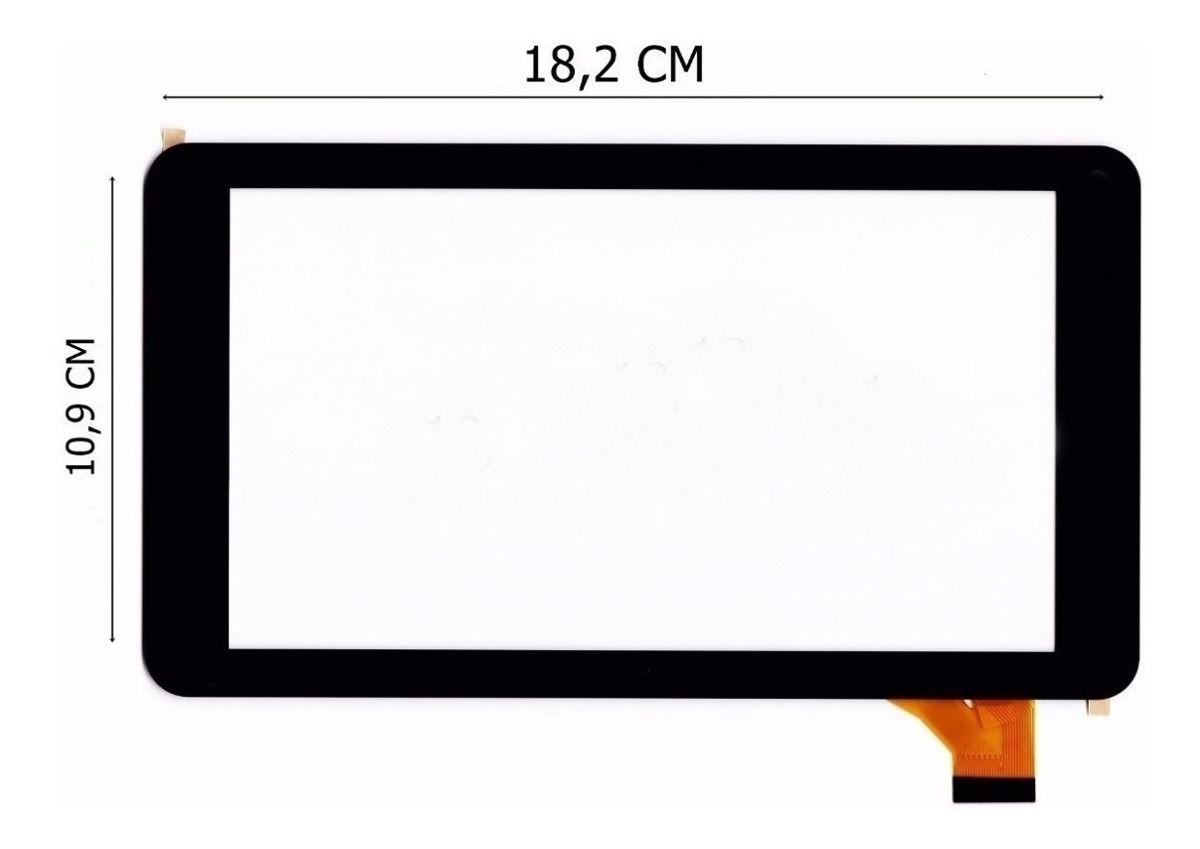 Tela Touch Lente Tablet How Max Quad A0011-c A0011c