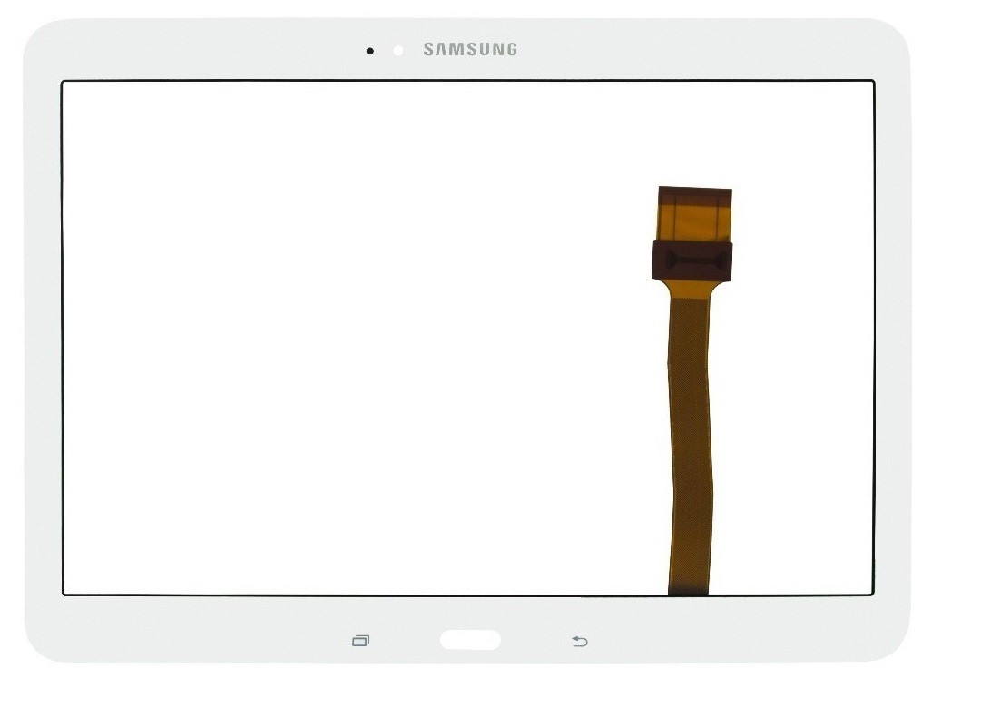 Tela touch vidro p/ tablet SM-T530 t531 t535 t530 Branco