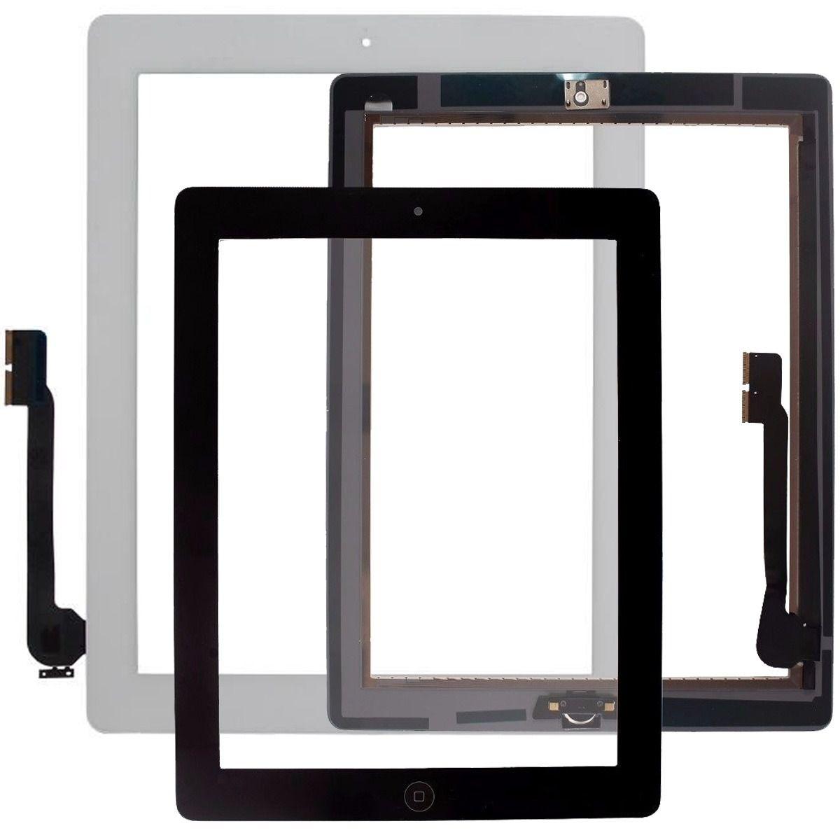 Tela Vidro Touch iPad 3 + Home A1403 A1416 A1430