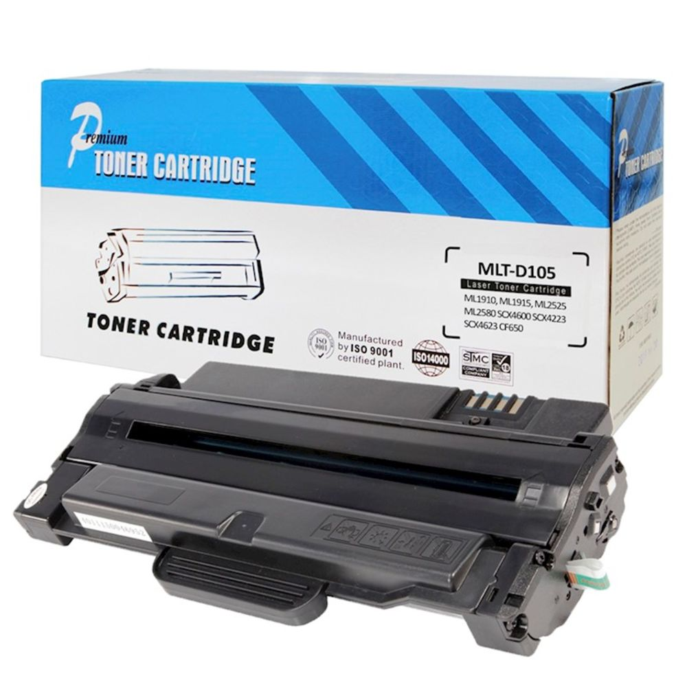 Toner Compatível MLT-D105S 105 D105 ML1910 ML1915 ML2525 ML2580 SCX4600 SCX4623 CF650